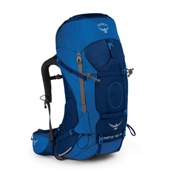 Osprey Aether AG 60 Backpack 2017, Neptune Blue, medium