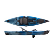 Liquidlogic Manta Ray Propel 12 Kayak 2017, Blue Lagoon, medium