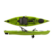Liquidlogic Manta Ray Propel 12 Recreational Kayak 2017, Wasabi Green, medium