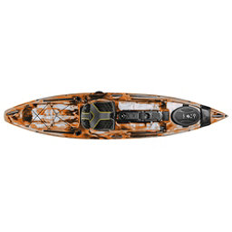 Ocean Kayak Trident 11 Angler Kayak 2017, Orange Camo, 256