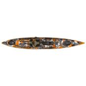 Ocean Kayak Trident 13 Angler Kayak 2017, Orange Camo, medium