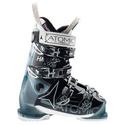 Atomic Hawx R 90 Womens Ski Boots, Transparent Light Blue-Black, 256