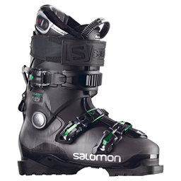 Salomon Quest Access Custom Heat Ski Boots, Anthracite Translucent-Black, 256
