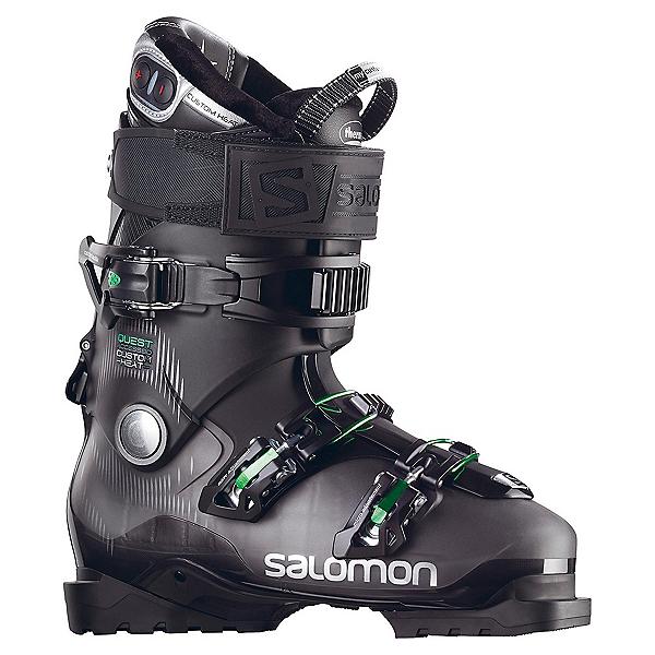 Salomon Quest Access Custom Heat Ski Boots, Anthracite Translucent-Black, 600