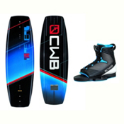 CWB Reverb Wakeboard With Optima Bindings 2017, 136cm, medium