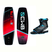 CWB Reverb Wakeboard With Optima 2 Bindings 2017, 131cm, medium