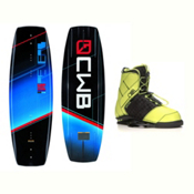 CWB Reverb Wakeboard With LTD Faction Bindings 2017, 136cm, medium