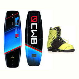 CWB Reverb Wakeboard With LTD Faction Bindings 2017, 136cm, 256