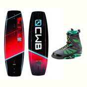 CWB Reverb Wakeboard With MD Bindings 2017, 131cm, medium