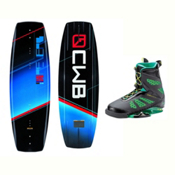 CWB Reverb Wakeboard With MD Bindings 2017, 136cm, medium