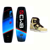CWB Reverb Wakeboard With Howl Bindings 2017, 146cm, medium