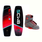CWB Reverb Wakeboard With Odyssey Bindings 2017, 131cm, medium