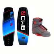 CWB Reverb Wakeboard With Odyssey Bindings 2017, 146cm, medium