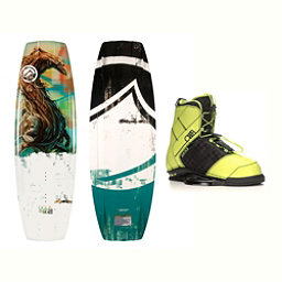 Liquid Force RDX Wakeboard With LTD Faction Bindings 2017, 134cm, 256