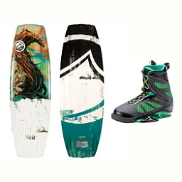 Liquid Force RDX Wakeboard With MD Bindings 2017, 134cm, 256