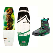 Liquid Force RDX Wakeboard With MD Bindings 2017, 138cm, medium