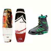 Liquid Force RDX Wakeboard With MD Bindings 2017, 142cm, medium