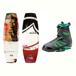 Liquid Force RDX Wakeboard With MD Bindings 2017, 142cm, 256