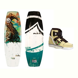 Liquid Force RDX Wakeboard With Howl Bindings 2017, 134cm, 256