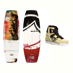 Liquid Force RDX Wakeboard With Howl Bindings 2017, 142cm, 256