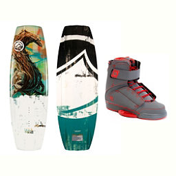 Liquid Force RDX Wakeboard With Odyssey Bindings 2017, 134cm, 256