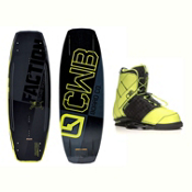 CWB Faction Wakeboard With LTD Faction Bindings 2017, , medium