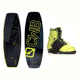 CWB Faction Wakeboard With LTD Faction Bindings 2017, , 256