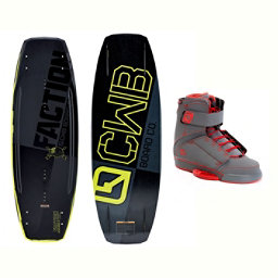 CWB Faction Wakeboard With Odyssey Bindings 2017, , 256
