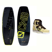 CWB Faction Wakeboard With Howl Bindings 2017, , medium