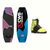 CWB Kink Wakeboard With LTD Faction Bindings 2017, , medium