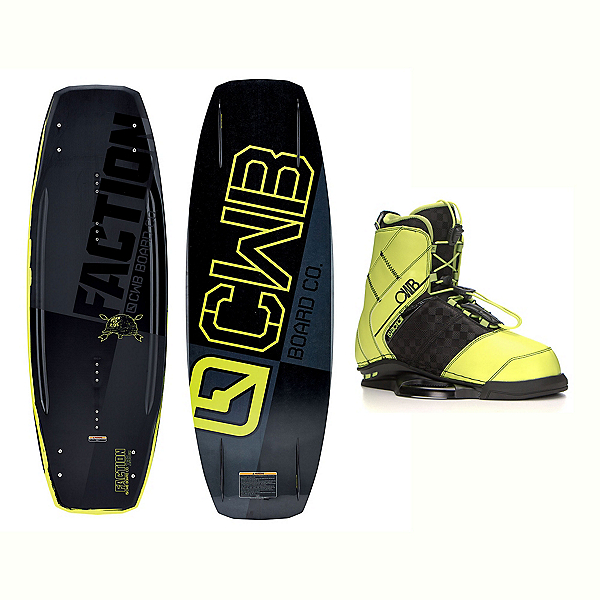 CWB Faction Blem Wakeboard With LTD Faction Bindings 2017, , 600