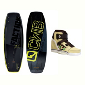 CWB Faction Blem Wakeboard With Howl Bindings 2017, , medium