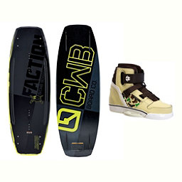 CWB Faction Blem Wakeboard With Howl Bindings 2017, , 256