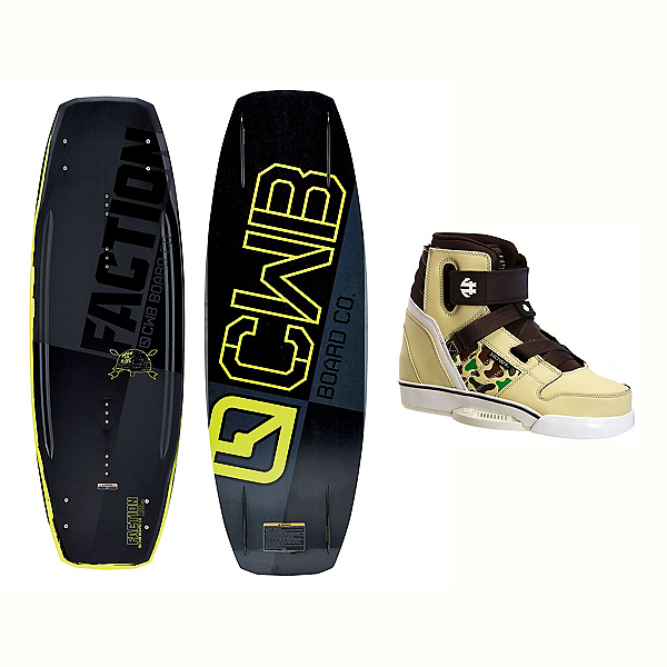 CWB Faction Blem Wakeboard With Howl Bindings 2017, , 600