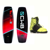 CWB Reverb Demo Wakeboard With LTD Faction Bindings 2017, , medium