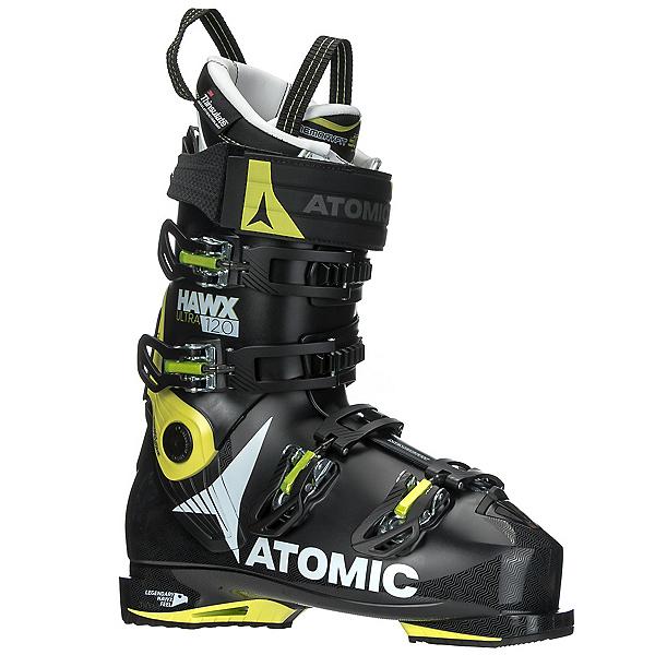 Atomic Hawx Ultra 120 Ski Boots 2018, Black-Lime, 600