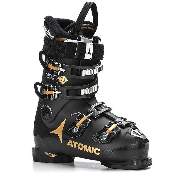 Atomic Hawx Magna 70 W Womens Ski Boots 2018, Black-Gold, 600