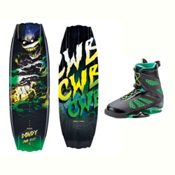 CWB Dowdy Wakeboard With MD Bindings 2017, , medium