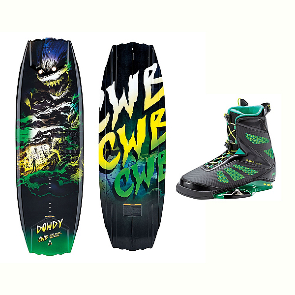 CWB Dowdy Wakeboard With MD Bindings 2017, , 600