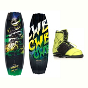 CWB Dowdy Wakeboard With LTD Faction Bindings 2017, , medium