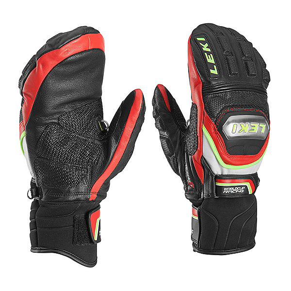 Leki World Cup Race Ti S Mittens Ski Racing Mittens, , 600