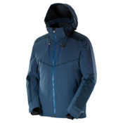 Salomon Whitefrost Flowtec Mens Insulated Ski Jacket, Big Blue X, medium