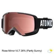 Atomic Savor OTG Goggles 2017, Black-Rose Mirror, medium