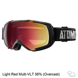 Atomic Revel ML Goggles 2017, Black-Light Red Multilayer, 256