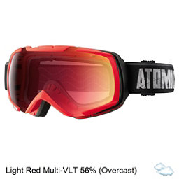 Atomic Revel ML Goggles 2017, Red-Light Red Multilayer, 256