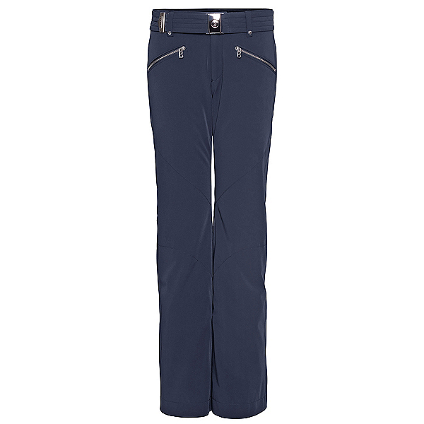Bogner Frida T Long Womens Ski Pants, Navy, 600