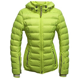 Bogner Noemi Down Womens Insulated Ski Jacket, Glowing Green, 256