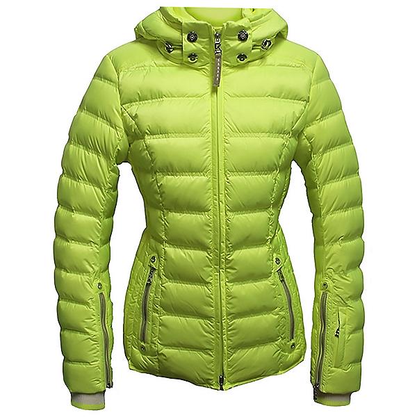 Bogner Noemi Down Womens Insulated Ski Jacket, Glowing Green, 600