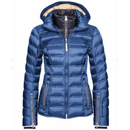 Bogner Noemi Down Womens Insulated Ski Jacket, Denim Blue, 256