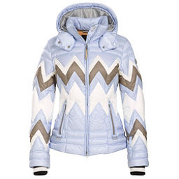 Bogner Nara Down 16 Womens Insulated Ski Jacket, Powder Blue, 256